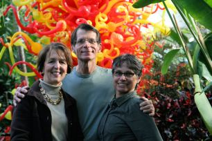Heartland Garden Bloggers: Teresa Woodard, Michael Leach and Debra Knapke