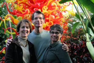 Heartland Garden Bloggers: Teresa Woodard, Michael Leach and Debra Knapke
