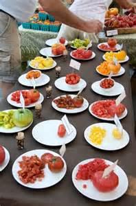 tomato tasting