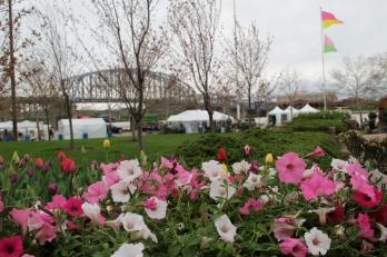 Flower show vendors