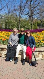 Diana Lockwood, Michael Leach and Teresa Woodard