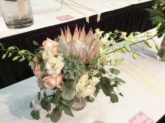 succulent bridal bouquet Cultivate 7-11-16