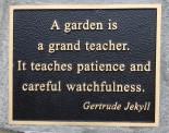 Rose garden Jekyll quote