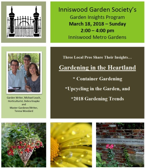 Inniswood garden talk